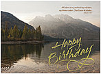Birthday Praise Greeting Card A2005G-W