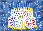 Cake Surprise Birthday Card A2024U-Y