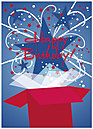 Star Birthday Card A2028D-Y