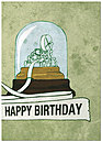 Stock Ticker Birthday Card A2044D-Y
