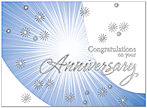 Contemporary Anniversary Card A2045U-X