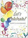 Let's Celebrate Anniversary Card A2048U-X
