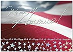We Are America Card A2052D-X