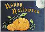 Halloween Night Card A2062D-Y