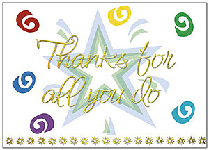 Thanks for All You Do Card A2079D-X