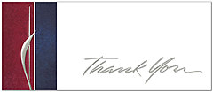Executive Thank You Card A2083L-X