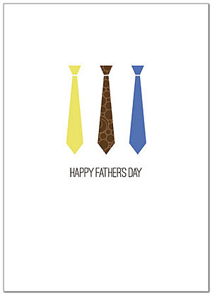 Father's Day Ties Card D2057D-Y