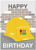 Hard Hat Logo Card D2097U-V
