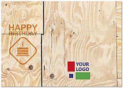 Construction Logo Card D2098D-V