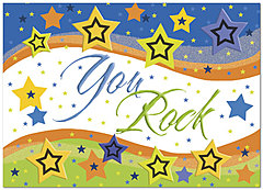 Star Wave Employee Appreciation Card D2099D-Y