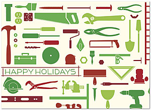 Holiday Tools Card D2213U-A