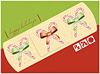 Holiday Bandage Card D2216U-A