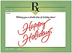 Holiday Rx Card D2217U-A