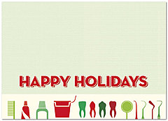 Dental Holiday Card D2219D-A