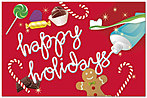 Holiday Treats Postcard D2221P-B