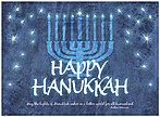 Happy Hanukkah Card D2222U-A