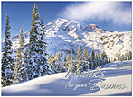 Mountain Business Thanks Card H2169S-AAA
