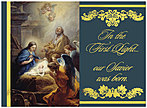 First Light Christmas Card H2184U-AA