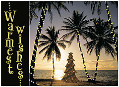 Island Holiday Card H2188U-AA