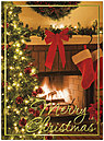 Christmas Home Holiday Card H2191U-AA