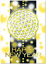 New Year Reflections Card H2197D-AA
