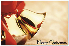 Christmas Bells Postcard H2206P-B