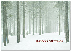 Green Forest Holiday Card H2208KW-AA