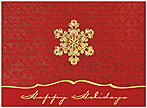 Holiday Snowflake Card H2228G-4A