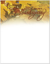 Maple Woods Thanksgiving Letterhead D2117L-B