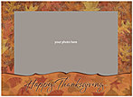 Autumn Splendor Photo Card D2124U-4B