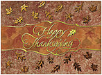 Elegant Thanksgiving Card H2104G-AAA