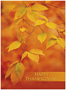 Amber Glow Thanksgiving Card H2113U-A