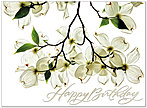 Dogwoods Birthday Card A3015U-X