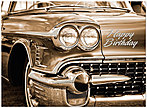 Cadillac Style Birthday Card A3023U-X