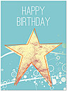Star Bright Birthday Card A3036U-Y