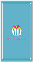 Package Icon Birthday Card A3042T-Z