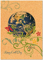 Earth Day Card A3045KW-X