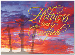 Crucified and Risen Easter Card A3050U-X