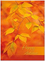 Happy Autumn Card A3054U-Y