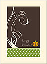 Halloween Pumpkin Card A3058U-Y