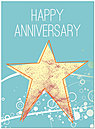 Bright Star Anniversary Card A3062U-Y