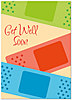 Get Well Bandages Card A3064D-Y