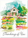 Thinking of You Garden Card A3068D-Y