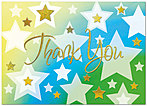 Sparkling Thank You Card A3071D-X