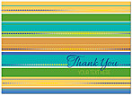 Thank You Stripes Card D3075D-V