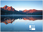 Mountain Lake Logo Card D3085U-V