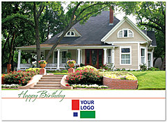 House Logo Card D3088U-V