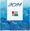 Blue Waters Logo Wall Calendar D3205U-4A