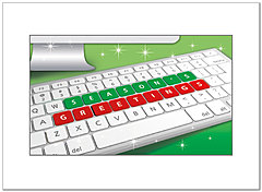 High Tech Holiday Card D3194U-A