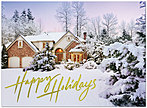 Home for the Holidays Card H3149G-AAA